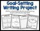 New Year's Resolutions Bulletin Board & 2018 Goals Writing Activity