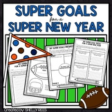 New Year's Resolutions Bulletin Board & 2019 Goals Writing Activity