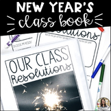 New Year Writing Activity: Resolution Class Book