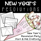 New Year's Resolutions Craftivity