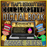New Year's Resolutions Digital Book in Google Slides™