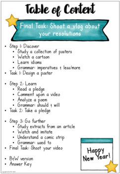 New Year's Resolutions - EFL Worksheets #birthdaysale35
