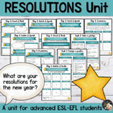 New Year's Resolutions - EFL Worksheets