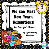 New Year's Resolutions Emergent Reader
