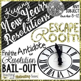 New Year's Activities 2020 Escape Room | Keep Resolutions