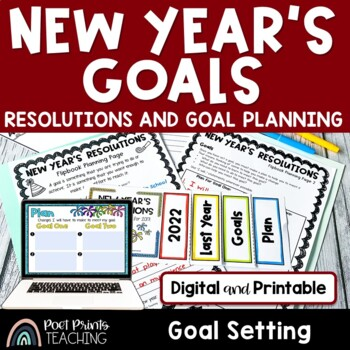 New Year's Resolutions Flip Book