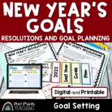 New Years 2018 Resolutions Flip Book