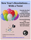 New Year's Resolutions - Writing in Role and Personal Writing
