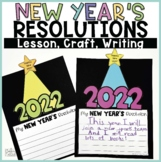 New Year's Resolutions Lesson, Craft, and Writing