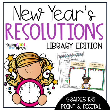 New Year's Resolutions - Library Edition