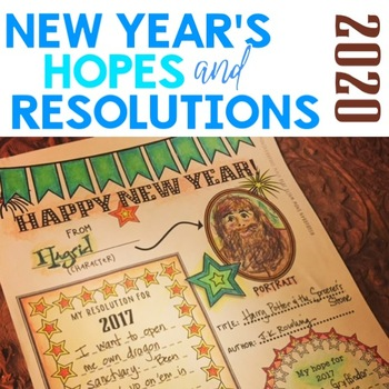 New Year's Resolutions for Growth Mindset with Arts Integration