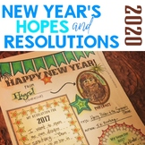 New Year's Resolutions 2018 for Growth Mindset with Arts I