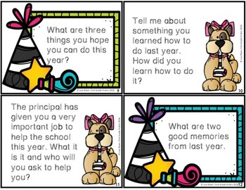 New Year's Response Cards