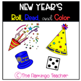 New Year's Roll, Read, and Color