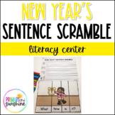 New Year's Sentence Scramble