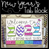 New Year's 2021 Tab Book | Printable and Digital | Distanc