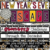 New Year's Themed Digital Escape Room-Challenging Geometry Skills