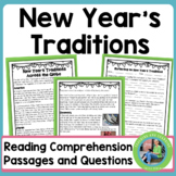 New Year's Traditions Across the Globe Reading Comprehension Passages