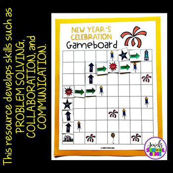 Holiday Unplugged Coding Activities (New Year's Coding Unplugged Activity)