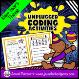 Holiday Unplugged Coding Activities (New Year's Coding Unp