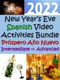 New Year's Video Activities in Spanish for Intermediate - Advanced Students