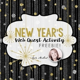 New Year's Web Quest Activity FREEBIE!