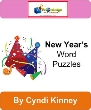 New Year's Word Puzzles