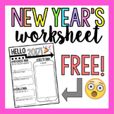 New Year's Worksheet