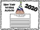 New Year's Writing 2019