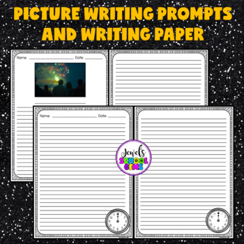 New Year's Writing Prompts and Paper