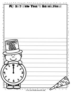 New Year's Writing