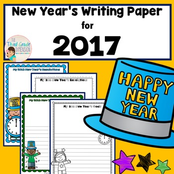 New Year's Writing
