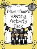 New Year's Writing Activity Pack