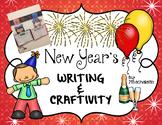 New Year's Writing & Craftivity