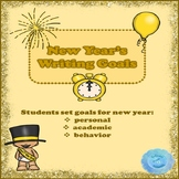 New Year's Writing Goals