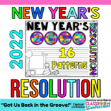 New Year's Resolution 2019: Writing Activity