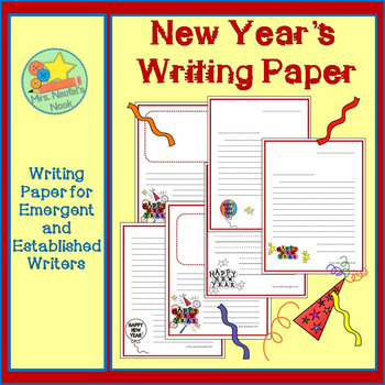 Writing Paper New Year's