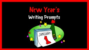 New Year's Writing Prompts