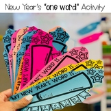 "New Year's ""one word"" Activity"