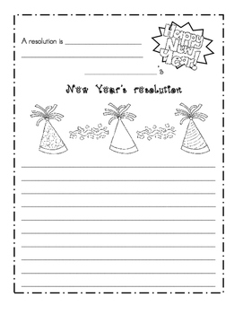 New Year's resolution project