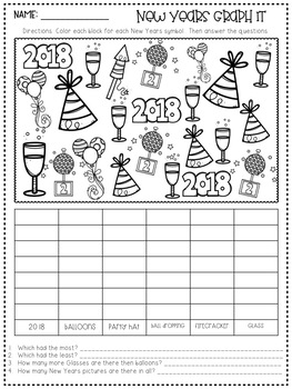 New Year Printables and Activities