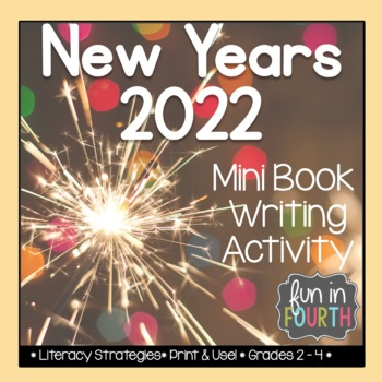 New Years - End of Year Reflection Booklet by Fun in Fourth with Ms Gatt