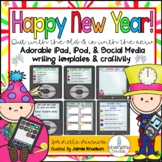 New Year's 2019 Craftivity and Writing Activities!