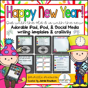 New Year's 2017 Craftivity and Writing Activities!