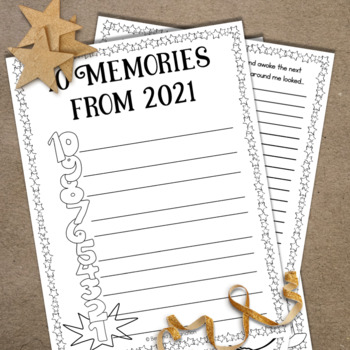 New Years 2017   Creative Worksheets for New Year Celebrations   Goals