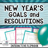 New Year's 2018: Goals, Resolutions, & Activities - Interactive (Grades 6, 7, 8)