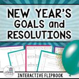 New Year's 2018: Goals, Resolutions, & Activities - Interactive (Grades 6, 7, 8)