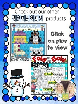 New Years 2018 Hundreds Chart Hidden Picture Freebie