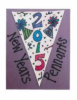 New Year's 2015 Pennants (New Year's Resolutions)