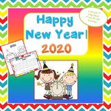 FREE New Year's 2017 Resolution Writing
